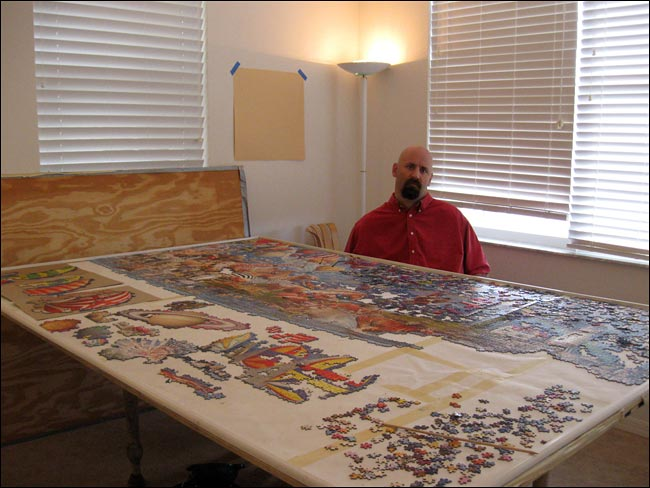 THE FIRST QUADRIPLEGIC TO COMPLETE THE PUZZLE